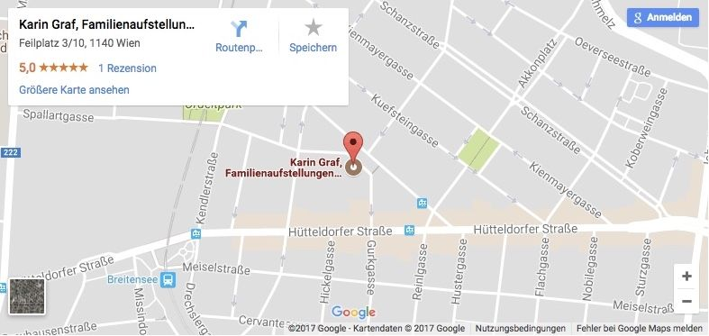 Google Map Screenshot Feilplatz 3, 1140 Wien